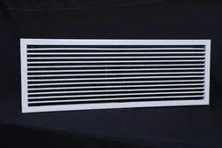 Rectangular AC Aluminum Grille