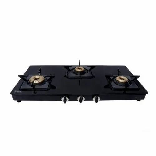 Good Flame Three Burner Gas Stove For