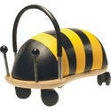 Blue Plastic Bug Bee Ride On Toy, Size : L29 X W13 X H18