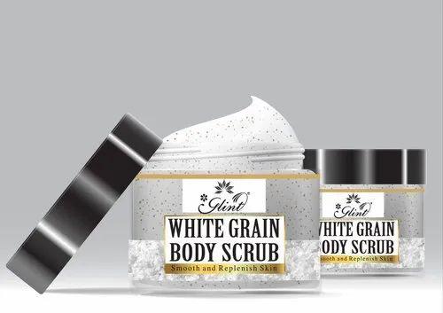 Glint White Grain Body Scrub