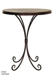 Black Iron Table