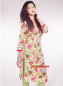 Flower Printed Ladies Kurti