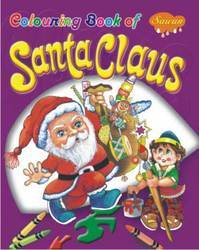 Coloring Book Of Santa Claus