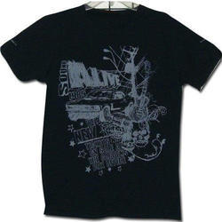 Large Cotton Mens Printed T Shirt