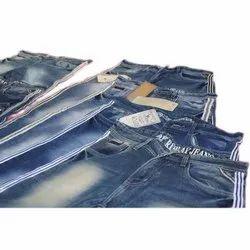 Denim Faded Mens Stretchable Slim Fit Lycra Jeans