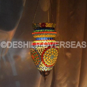 Deshilp Overseas Glass Hanging Light Holder