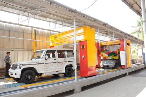 KRE Automatic Car Wash System in 17 M
