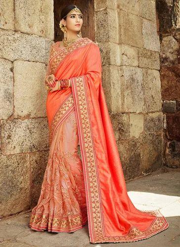 b5bc4747d5 Wedding Wear Designer Heavy Work Sarees Wholesale at Rs 2796 /piece ...