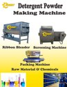 Semi Automatic Detergent Powder Making Machine