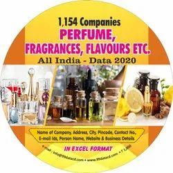 Perfume, Fragrance Companies Database