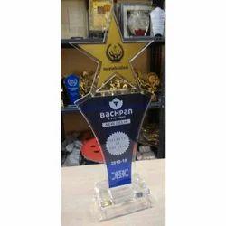Star Acrylic Trophy