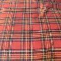 58 Inch Cotton Red Checks Shirt Fabric