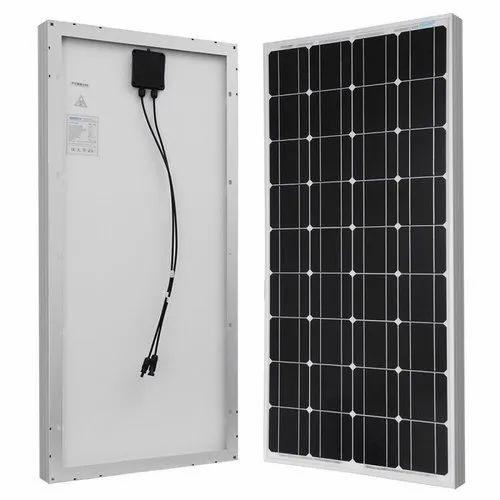 Off Grid Loom Solar Panel 120 Watt 12 Volt Mono Crystalline Rs 4900 Piece Id 21017736512