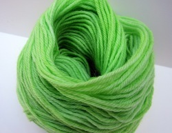 Dyed Acrylic Knitted Yarn