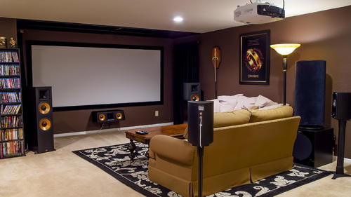 Home Theater Projector, Home Cinema Projector, होम थिएटर ...
