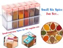 Multicolor Plastic Spice Jars Dispenser Easy Flow Storage