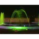 Green Musical Dancing Fountain