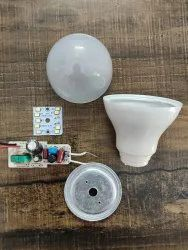 Cool White 9W LED Bulb Raw Material