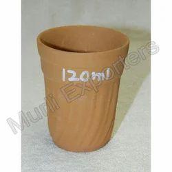 Clay Tea Glass