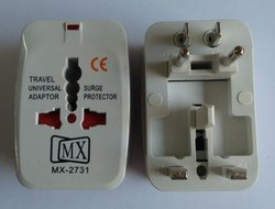 White Travel Adapter