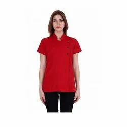 UB-TOP-42 Red Formal Tunic Top