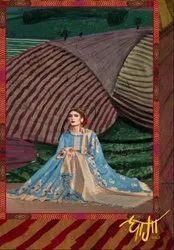 YNF Dhaga Vol-3 Linen Art Silk Saree
