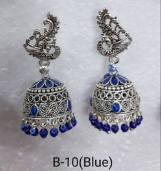 Silver designer baali earings