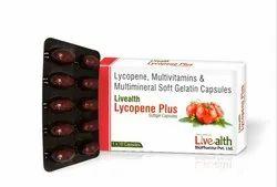 Livealth Lycopene Plus, Grade Standard: Medicine Grade, 1 X 10 Capsules