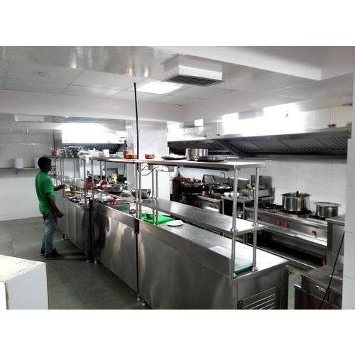 Ss Stainless Steel Commercial Kitchen