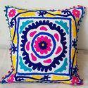 Indian Decorative Suzani Cushion Cover