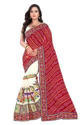 Riva Enterprise Women's Georgette  Saree