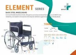 TOMMY- Basic Steel Wheelchair