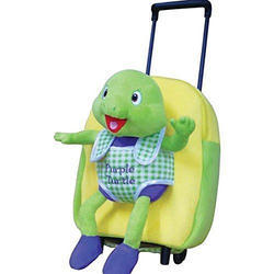 Purple Turtle Yellow and Green and Blue trolley bag