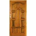 Brown 10 Panel Pine Wood Door