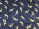 Micro Twill Gold Print Mattress Fabric