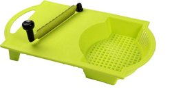 Cut -N-Wash Chopping Board with Stainless Steel Two Side Blade Suitable for All