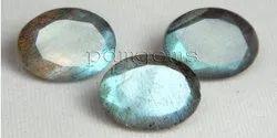 Labradorite Faceted Oval Lot Gemstone
