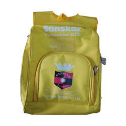 Sword Vintage Clothing Yellow Kids School Bag