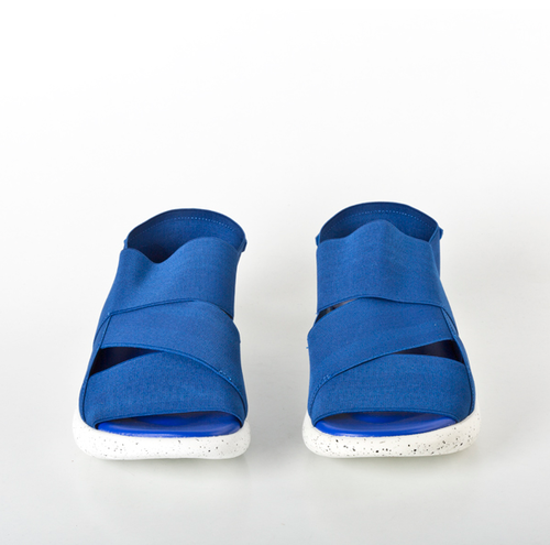 a9cf48dfe Men Synthetic Leather and Synthetic Leather Blue Stylish Strappy Sandals