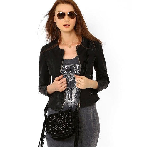 Ladies Short Leather Jacket, Women Leather Jackets, Womens Leather ...