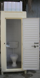 FRP Executive Western Toilet With 200 Litter Overhead Tank