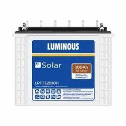 Luminous Solar 100 Ah Tubular Battery
