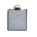 Cane Handle Jute Bag