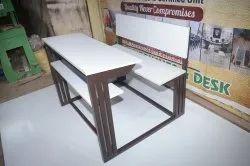 School Dual Desk Bench Frame