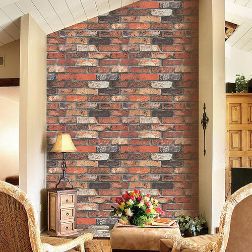 Bricks Design Wallpaper Decorative