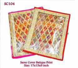 Saree Cover Batique Print