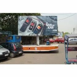 Outdoor PVC Mobile Hoarding Flex Printing Services