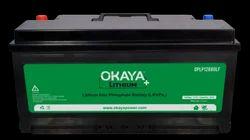 Okaya Lithium Battery, Battery Capacity: 80 Ah, Voltage: 12.8V