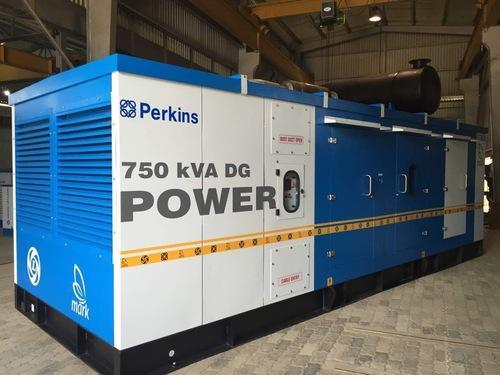 Perkins 750 KVA Diesel Generator, Mark Acoustic Enclosures