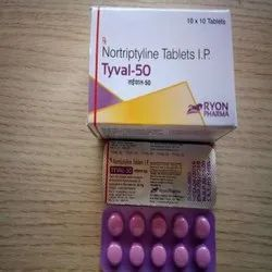 Nortriptyline Tablets 25/50 SR-75 (TYVAL)